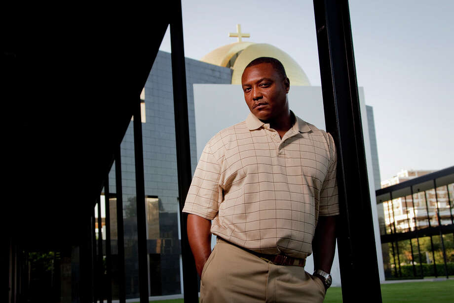 Anthony Graves on the campus at St. Thomas University in Houston June, 2012. Photo: Billy Smith II / © 2012  Houston Chronicle