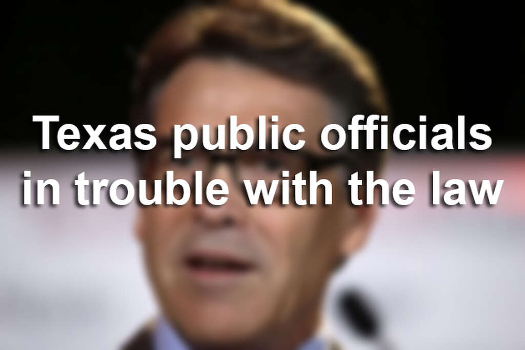 Public officials are not infallible, and sometimes they get caught by the  law. Here