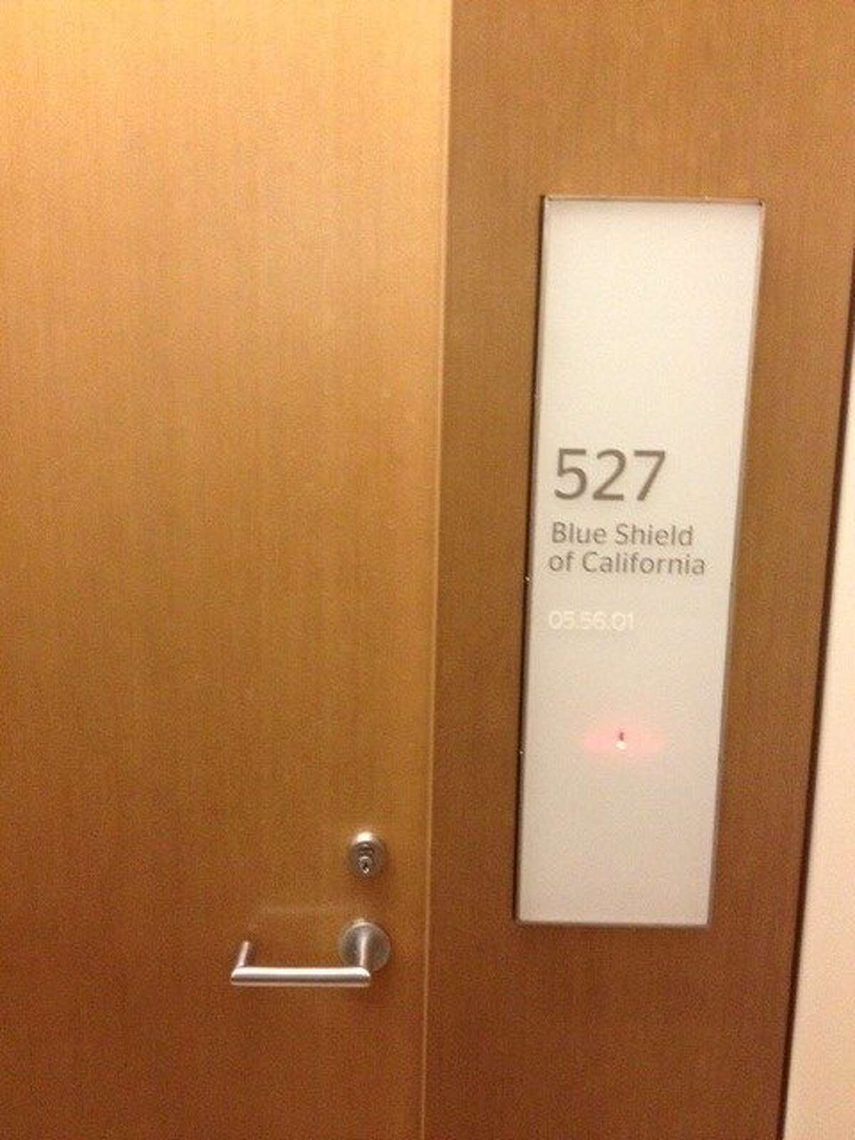 Door to new 49ers luxury suite at Levi's Stadium purchased for millions by Blue Shield of California