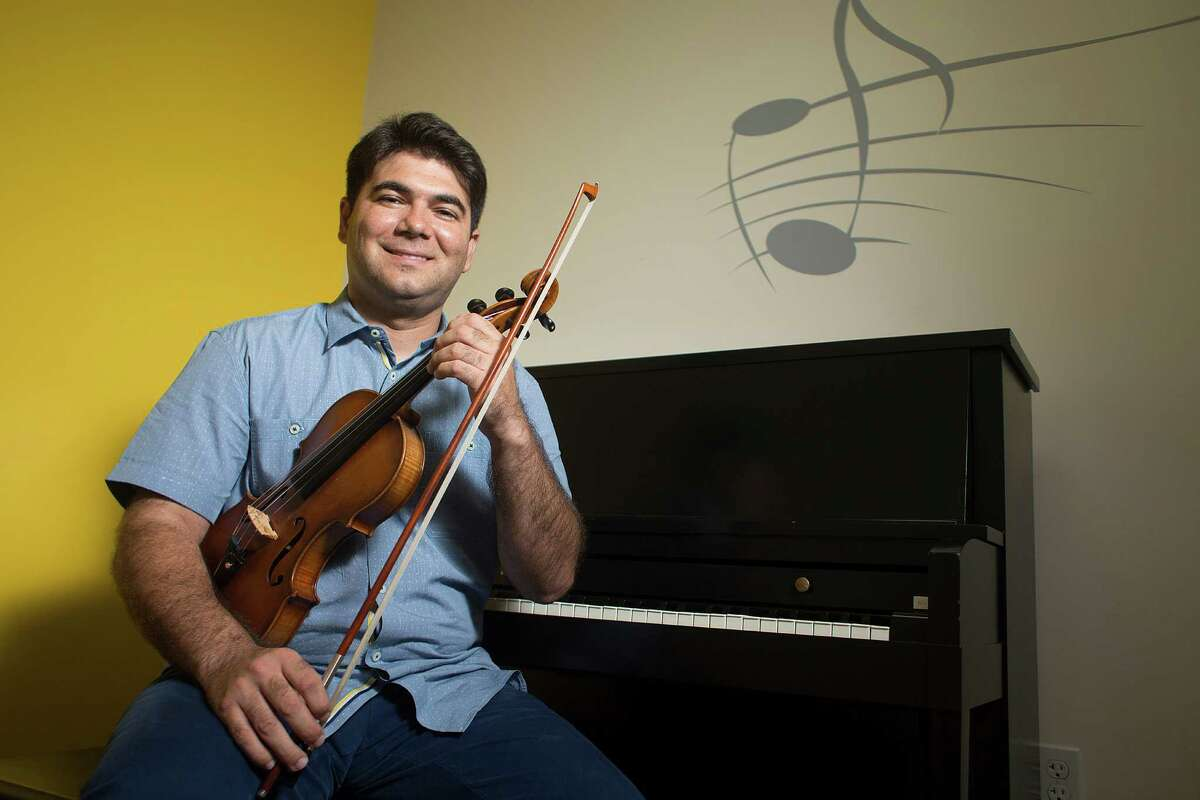 Vivaldi Music Academy owner Zeljko Pavlovic began performing as a soloist at age 9.