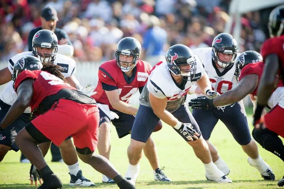Much of the Texans' hopes for this season rest with new quarterback Ryan Fitzpatrick (14), who is among the worst-performing QBs in the NFL. Photo: Brett Coomer, Staff / © 2014 Houston Chronicle