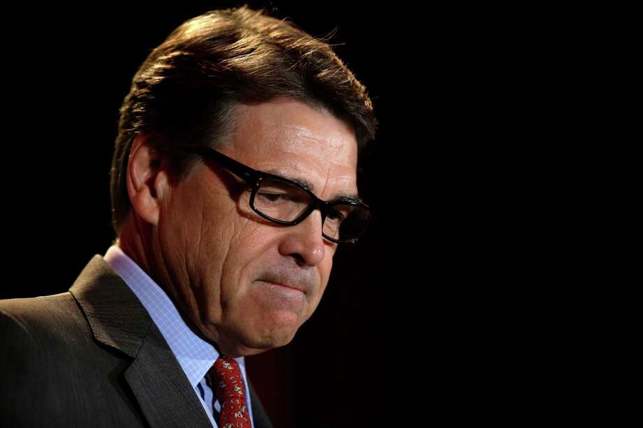 Rick Perry is the first Texas governor to be indicted in nearly a century. Photo: Tony Gutierrez, STF / AP