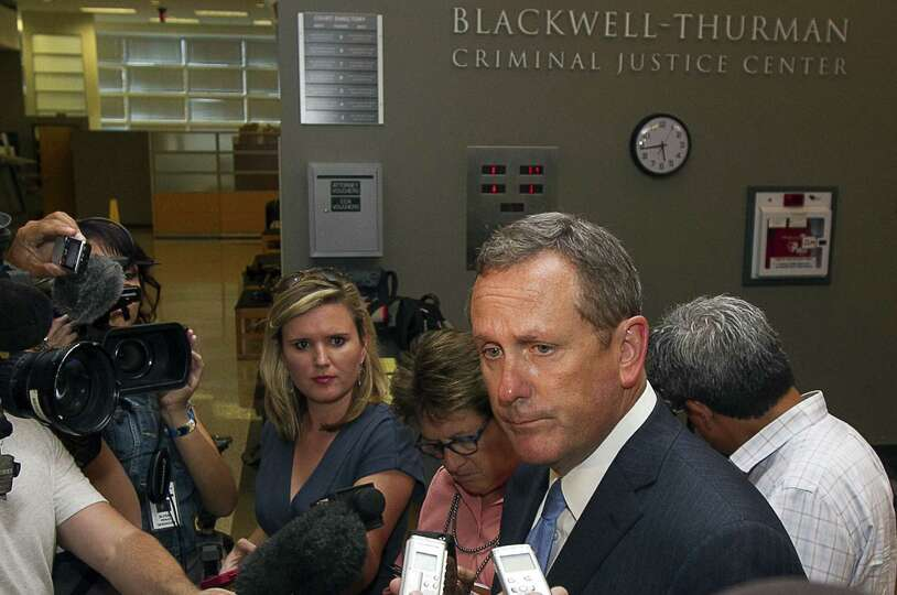 Special prosecutor Michael McCrum of San Antonio is working on a time for the governor to be arraign