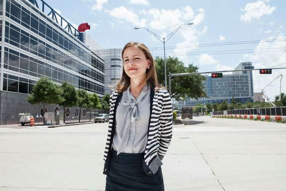 """Marie Hoke of WHR Architects says the transformation of the convention center is the """"pinnacle of the pinnacle"""" of her career."""