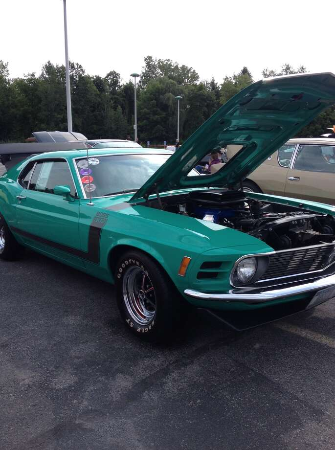 Times Union Car and Motorcycle Show, Saturday, Aug. 16, 2014 (Susan Mehalick/Times Union)