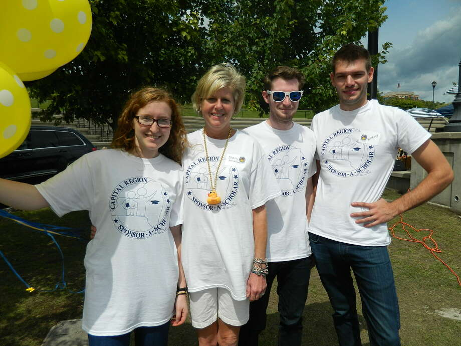 Were you Seen at the Duck Derby & Community Fun Day at Riverfront Park in Albany on Saturday, Aug. 16, 2014? Proceeds from the event will benefit Capital Region Sponsor-a-Scholar. Photo: Era Bushati