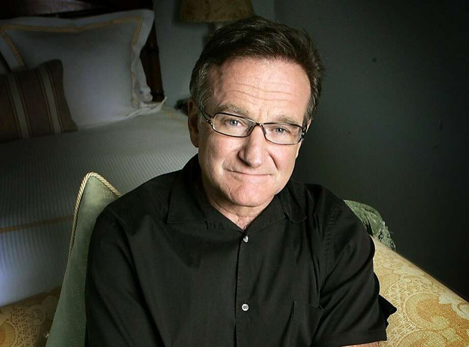 Robin Williams consistently gave back to the Bay Area. Photo: Reed Saxon, Associated Press