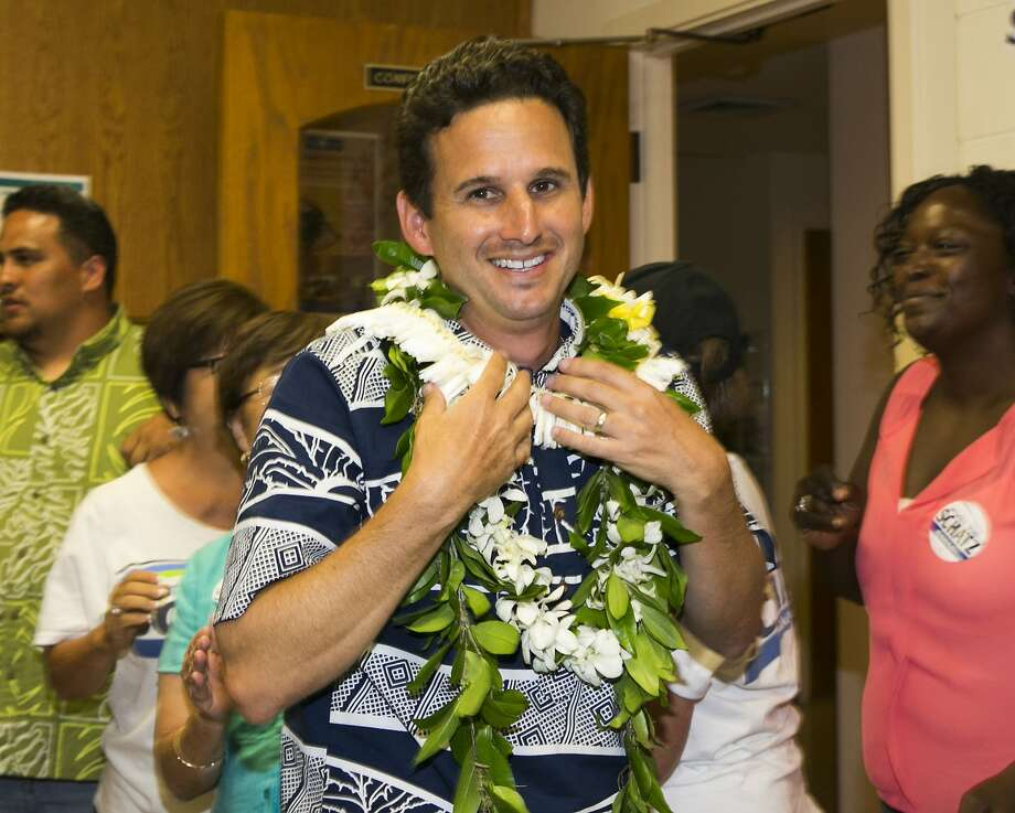 Sen. Brian Schatz's margin was less than 1 percent of total votes. Photo: Marco Garcia, Associated Press