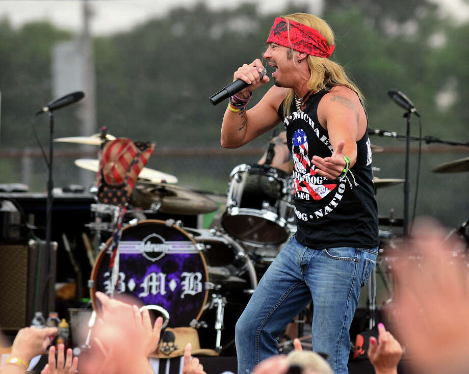 Bret Michaels headlines at the 40th Annual Milford Oyster Festival in downtown Milford, Conn. on Saturday, August 16, 2014. Photo: Christian Abraham / Connecticut Post