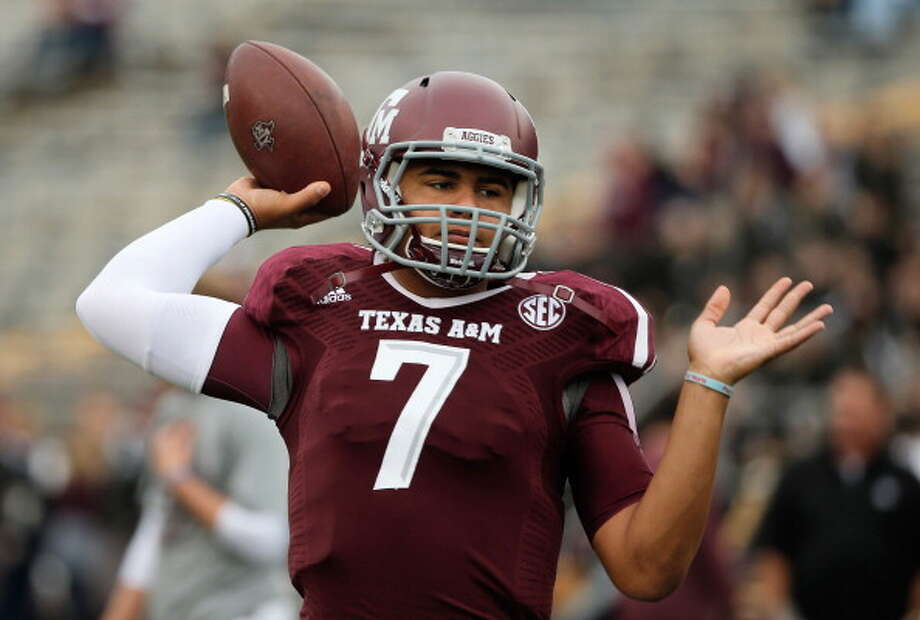 Kenny Hill has big shoes to fill in the Aggies backfield. Photo: Scott Halleran, Getty Images / 2013 Getty Images