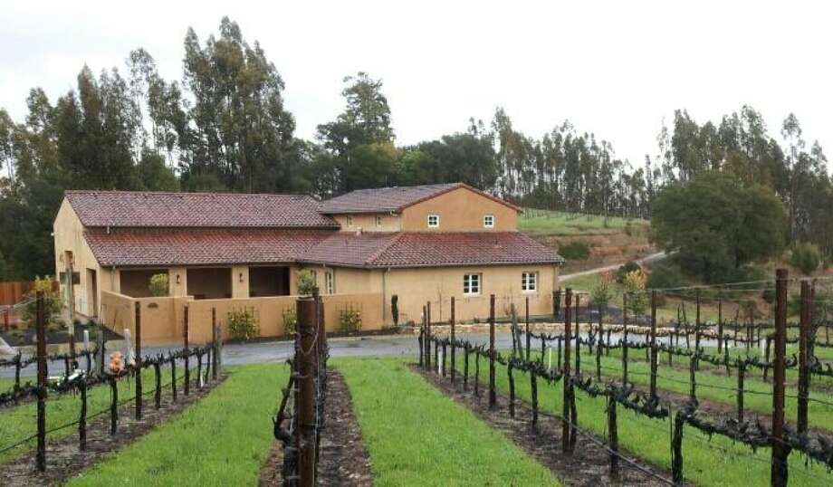 The winery and vines at Fog Crest Vineyard near Sebastopol. Photo: Fog Crest Vineyard / Fog Crest Vineyard / ONLINE_YES