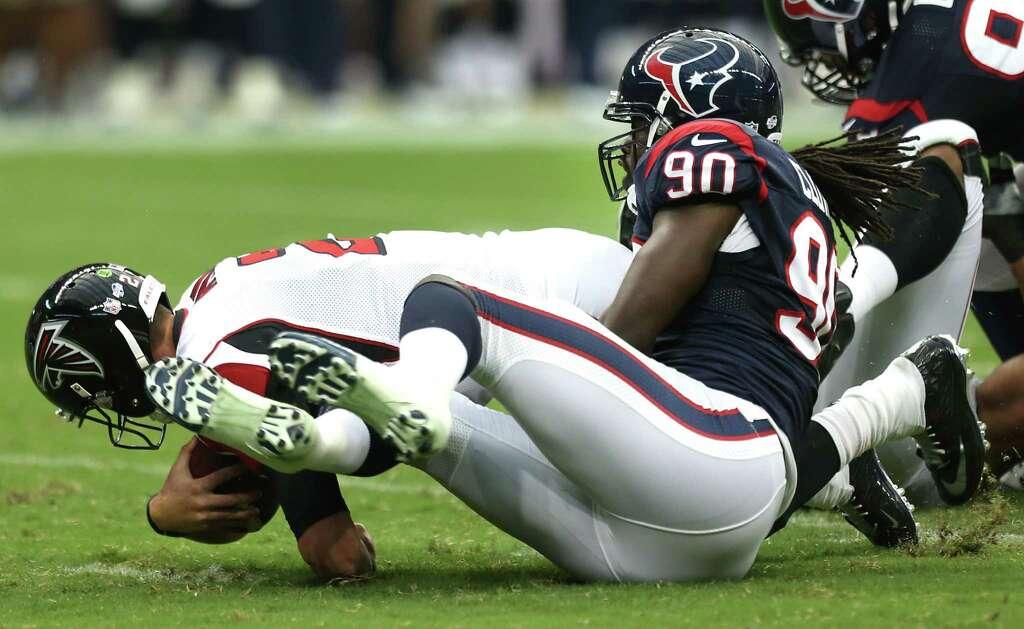 Jadeveon Clowney Texans Hit