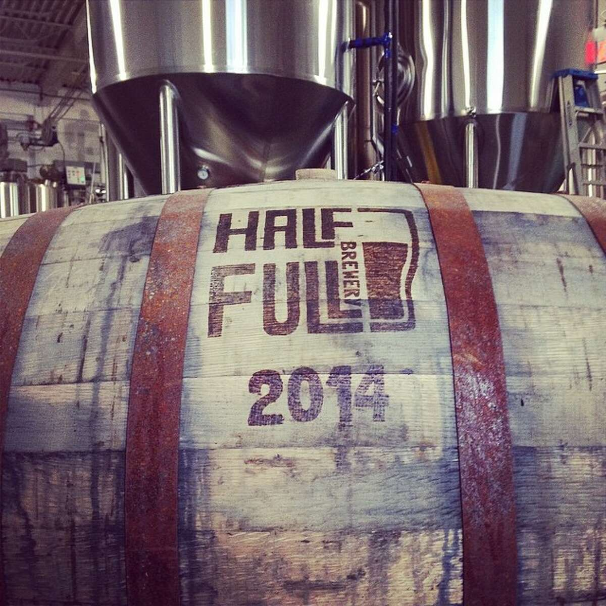 On Friday, Half Full in Stamford invites you to one of their famous open houses. For just $15, enjoy open taps while playing corn hole and life-sized Jenga. Feel free to bring your own food. Find out more.