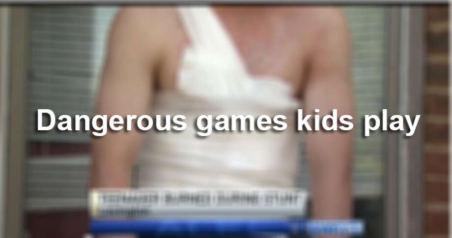 Dangerous games kids play Photo: WKYT-TV