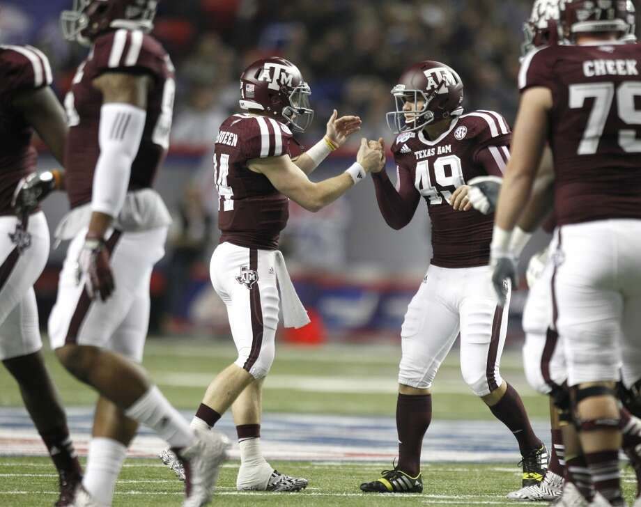 #9 - Texas A&M  SEC  978 points  Record: 1-0 Photo: Brett Coomer, Houston Chronicle