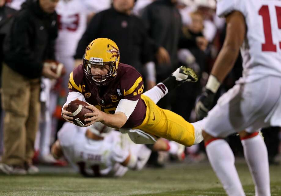 #17 - Arizona State  Pac-12  431 points  Record: 1-0 Photo: Christian Petersen, Getty Images