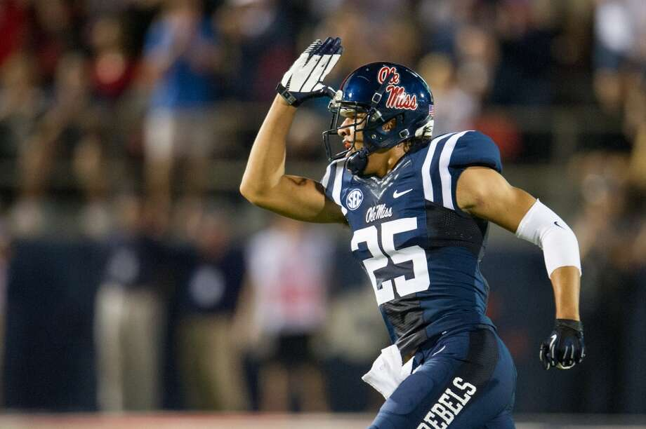 #15 - Ole Miss  SEC  525 points  Record: 1-0 Photo: Michael Chang, Getty Images