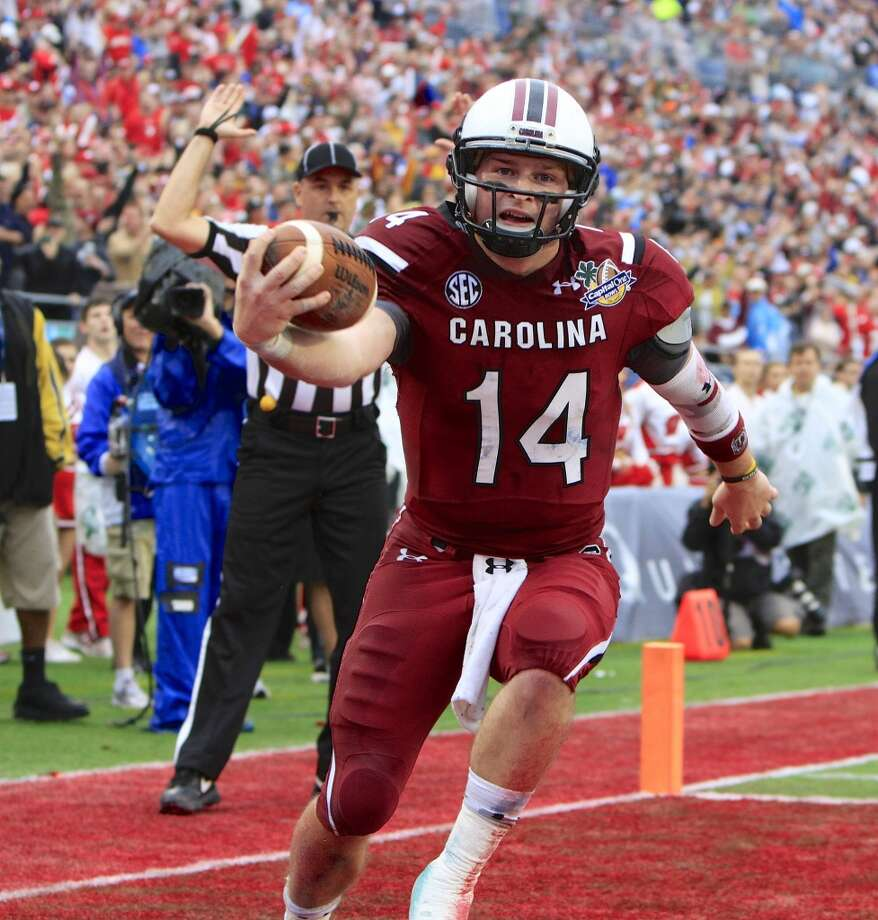 #21 - South Carolina  SEC  196 points  Record: 0-1 Photo: JOE PETRO, McClatchy-Tribune News Service