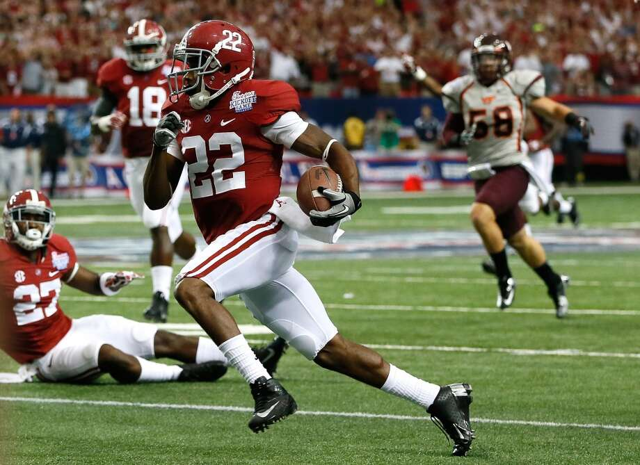 #2 - Alabama  SEC  1,317 points  Record: 1-0 Photo: Kevin C. Cox, Getty Images