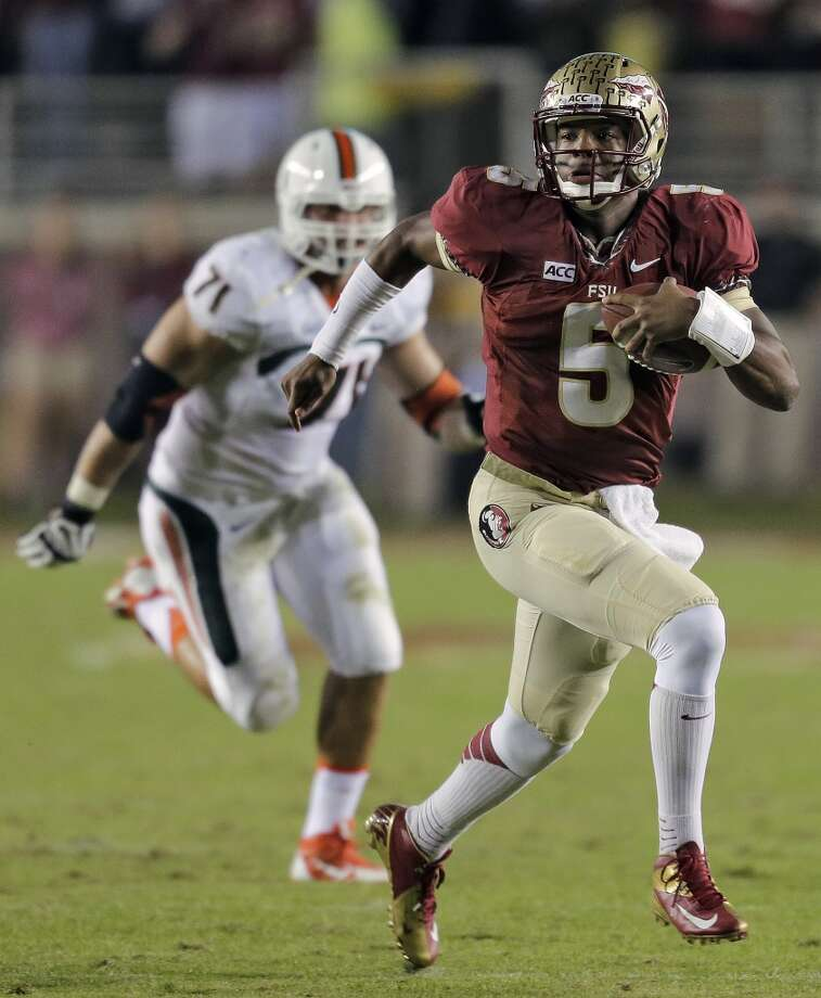 #1 - Florida State  ACC  1,456 points  Record: 1-0 Photo: Chris O'Meara, Associated Press