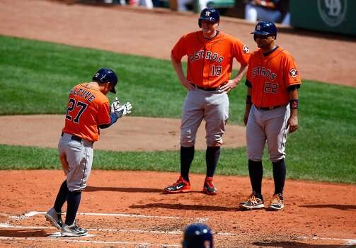 August 17: Astros 8, Red Sox 1  Jose Altuve's first career grand slam gave the Astros an early lead, and they never looked back as they split the four-game series in Boston.  Record: 52-73. Photo: Jared Wickerham, Getty Images