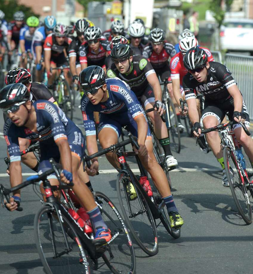 Photographs from the Danbury Audi Race4Scholars Criterium bike race, held in Danbury, Conn, on Sunday, August 17, 2014. Photo: H John Voorhees III / The News-Times Freelance