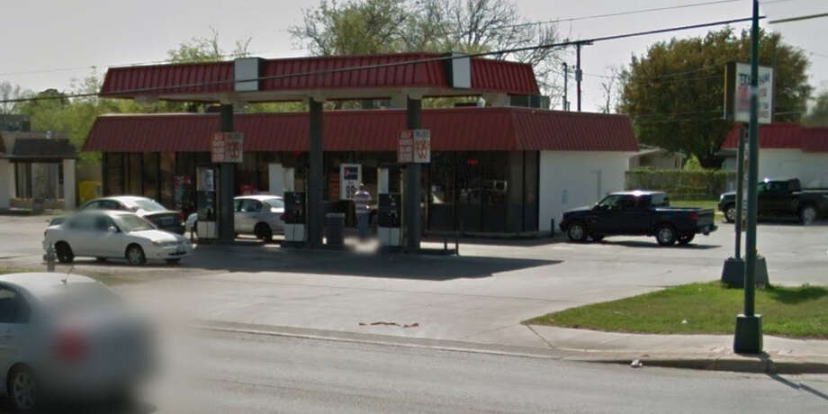 Texas Sun convenience store, 3263 Roosevelt Ave., across the street from Mission San José, sold a $15.75 million jackpot winning ticket Saturday night, Aug. 16, 2014. Photo: Google Maps