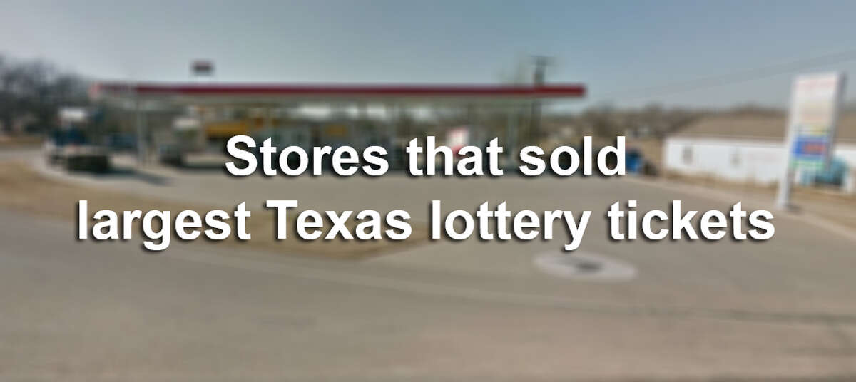These are the stores that have sold the winning tickets for the largest jackpots in Texas since July 8, 2012.