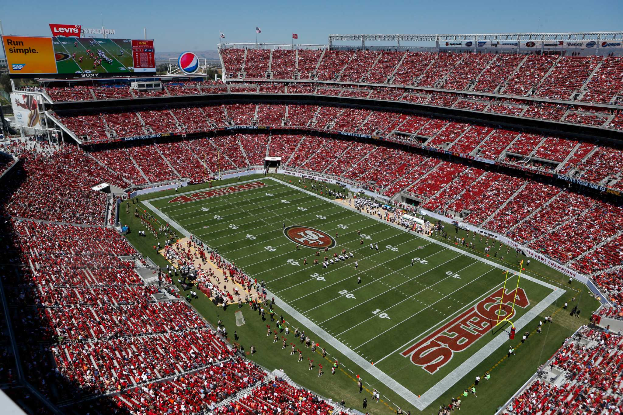 Levis Stadium Capacity >> Levi S Stadium Is A Model For Privately Financed Venues