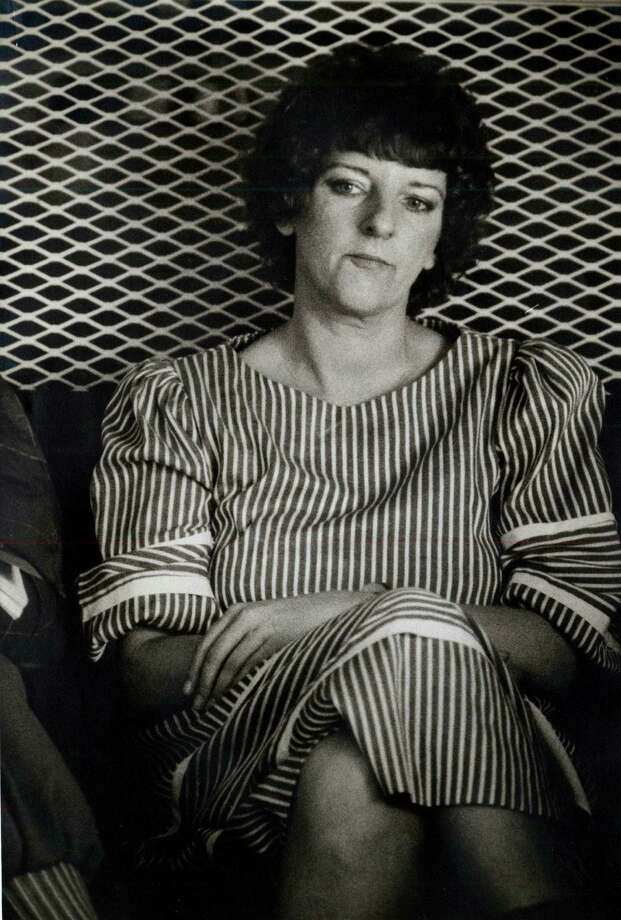 """Genene Jones Jones, known as """"the killer nurse,"""" worked at a San Antonio hospital in the early 1980s, where dozens of babies died during her tenure. Although the allegations flew, Jones was convicted of killing one child, 15-month-old Chelsea McClellan, in Kerr County with an injection of muscle relaxant, and sentenced to 99 years in prison. She is eligible for automatic release in March 2018, but officials in Bexar and other Texas counties may try to secure a new conviction to keep her behind bars. Photo: Martin D Rodden, San Antonio Light File Photo / San Antonio Light"""