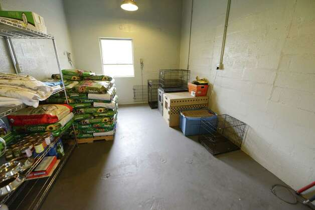 Storage room Inside at Schenectady's animal shelter Tuesday, Aug. 12, 2014, located at the city sewage treatment plant on Technology Dr. in Schenectady, N.Y. (Will Waldron/Times Union) Photo: WW / 00028143A