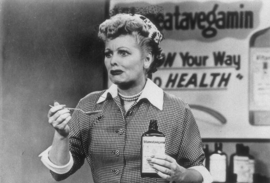 "Lucille Ball on the television show, ""I Love Lucy,"" in an episode from 1952, in an undated handout photo. Rebroadcasts of retro television shows might be too much of a good thing or too much of a thing that wasn't really as good as memory makes it seem. (CBS Photo Archive via The New York Times) -- NO SALES; FOR EDITORIAL USE ONLY WITH STORY SLUGGED TV RETRO OVERLOAD BY NEIL GENZLINGER. ALL OTHER USE PROHIBITED. Photo: CBS PHOTO ARCHIVE, HO / New York Times / CBS PHOTO ARCHIVE"