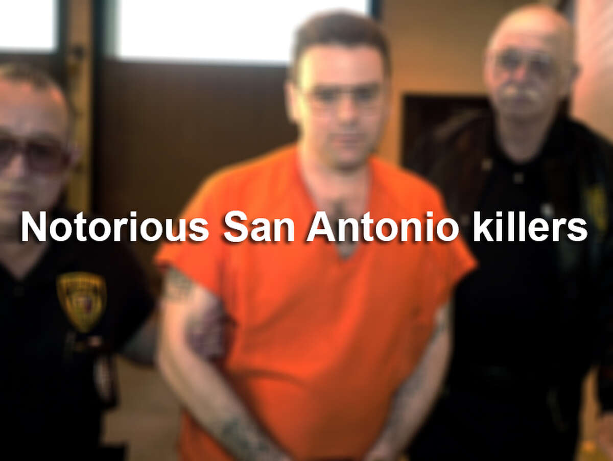 San Antonio is one of the oldest cities in Texas, so it should come to no surprise that S.A. also has a dark history of heinous crimes. Here are 17 killers whose crimes against children, city leaders and others won't soon fade from the Alamo City's memory. Source: San Antonio Express-News archives; Texas Department of Criminal Justice.