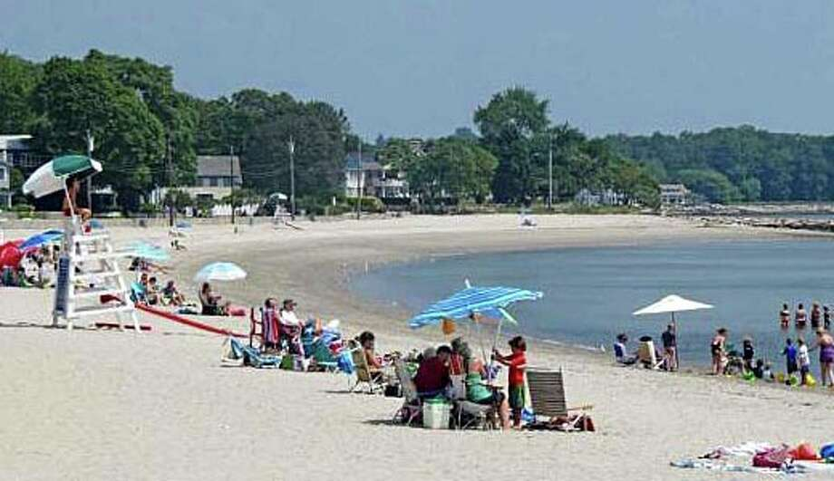 Lifeguard coverage at town beaches will begin to be scaled back this week as the summer season comes to an end. Photo: File Photo / Westport News