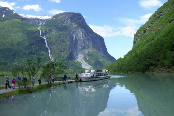 Chronicle reader Alan Ahrens of Sugar Land submitted this vacation photo of the Kjenndalen Valley near Olden, Norway.