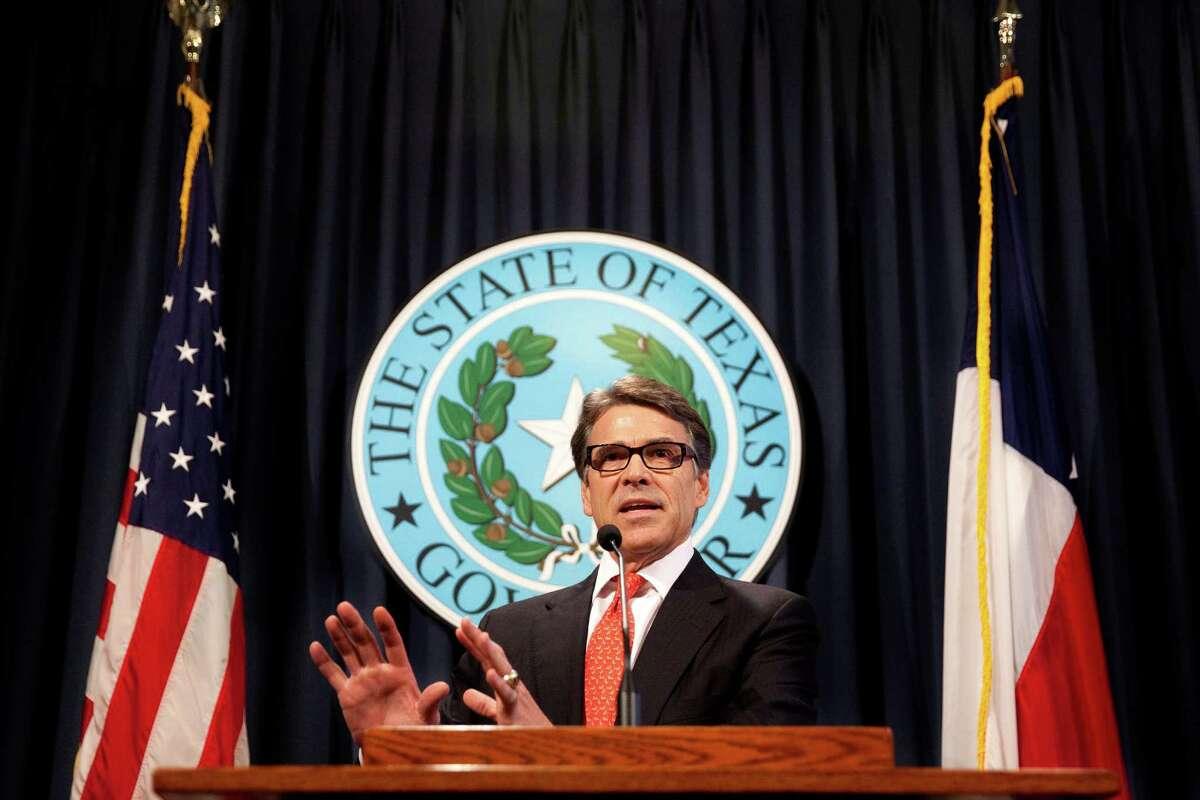 Gov. Rick Perry: