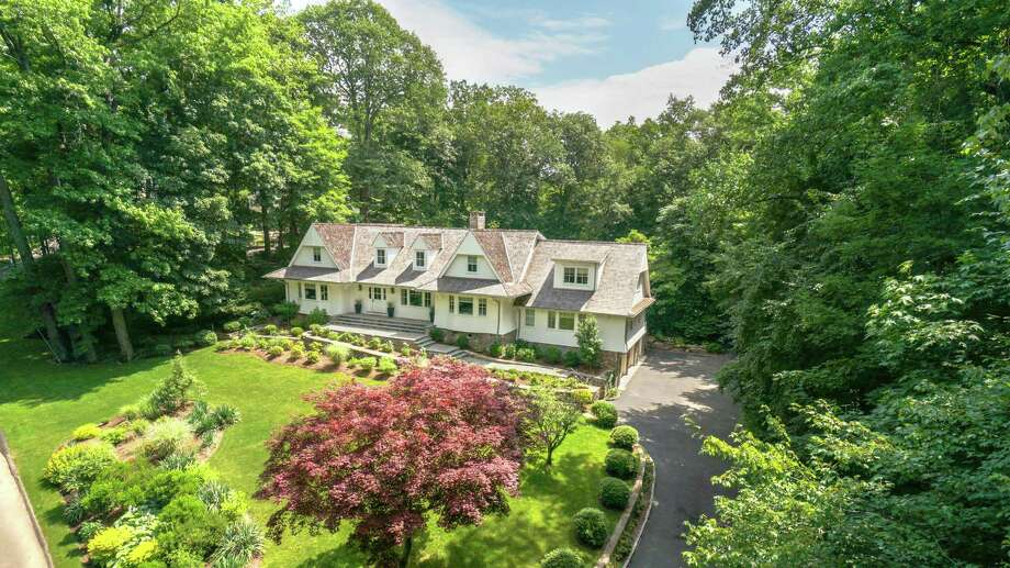 The Darien-based Fox Hill Builders redesigned the Colonial at 7 Whaling Road in Darien from top to bottom. The home, in the private Salem Straits Association, is on the market for $3,700,000. Photo: Contributed Photo, Contributed / Darien News