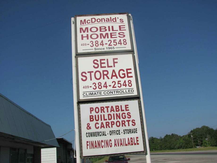 McDonalds Self Storage auctioned several stoartge units Saturday Aiugust 16th.  Photo Jeff Reedy