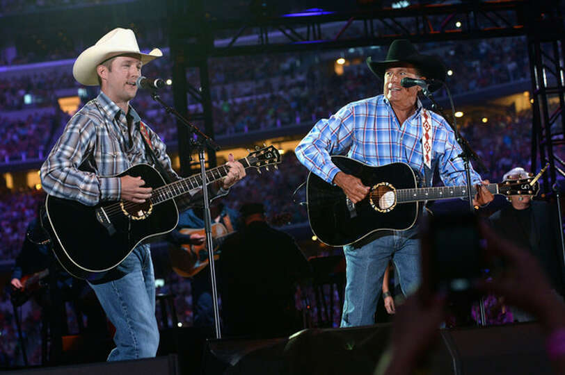 George Strait Performs With Son Bubba At Final Concert