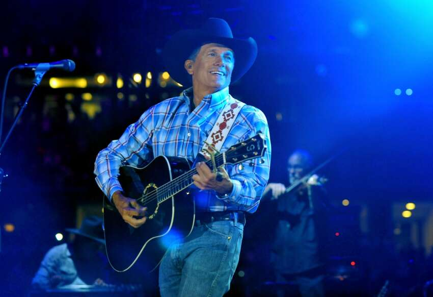 George Strait - (U.S. Army) While he was stationed in Hawaii, the King of Country performed with the U.S. Army-sponsored band,