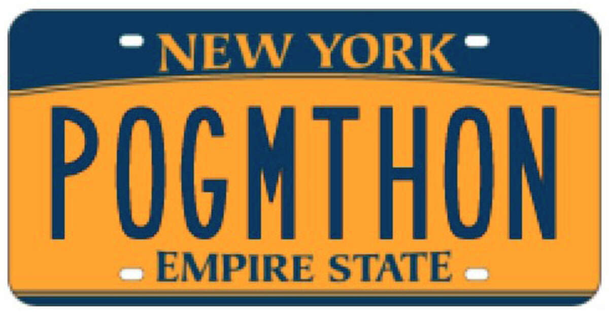 Have you seen this New York license plate around the capitol area? We have.For the non-Irish out there: