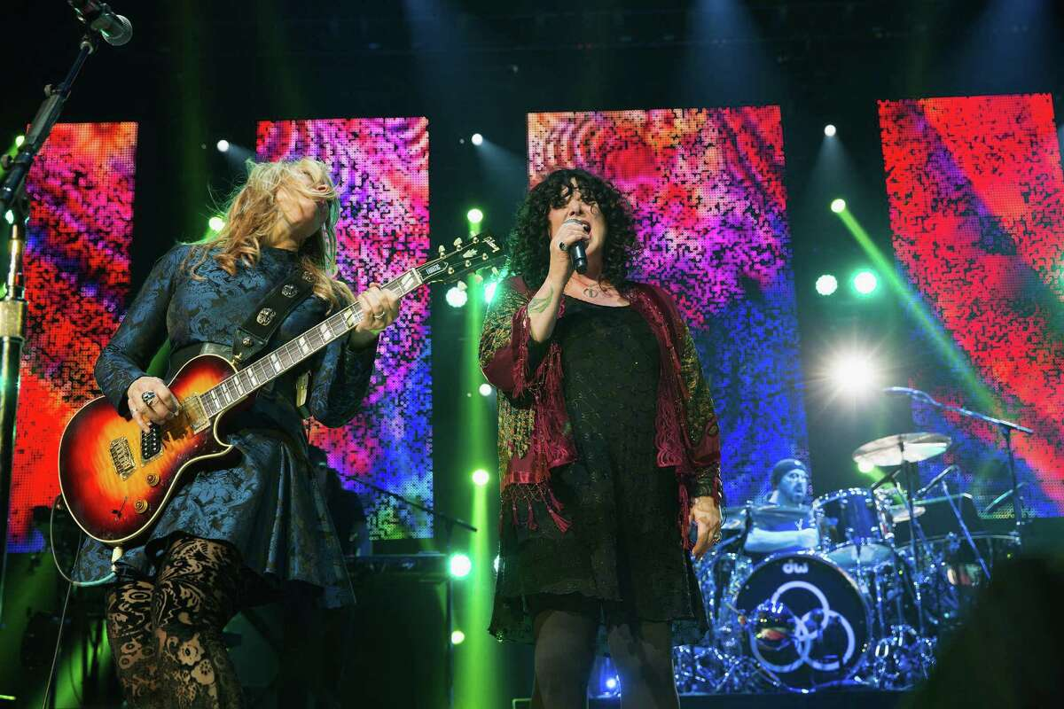 The husband of local rock band Heart's Ann Wilson was handed a suspended sentence Friday for reportedly choking Wilson's twin nephews during a Heart show at the White River Amphitheater.
