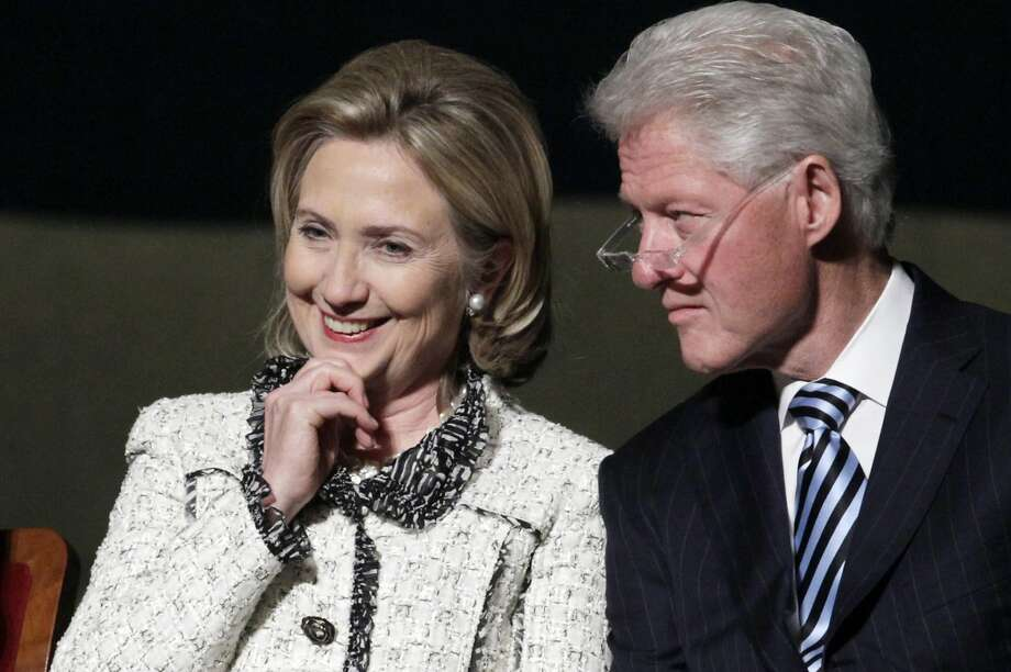The Clintons will appear at the September steak fry for retiring Sen. Tom Harkin. Photo: Carolyn Kaster, Associated Press