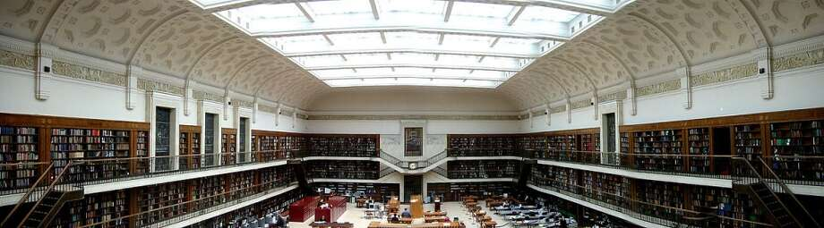 The Mitchell Library Reading Room is the centerpiece of the State Library of New South Wales in Sydney, Australia. Photo: Jason7825
