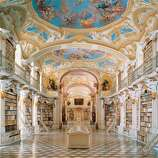 "The late Baroque library of the Admont Benedictine Monastery, in Austria, was completed in 1776. Its builder, Josef Hueber, said, ""As with the mind, light should also fill the room."""