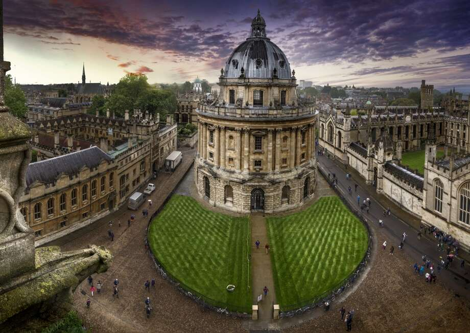"""Oxford University's Radcliffe Camera (camera means room in Latin) opened in 1749.  Locals call it  """"Rad Cam"""" or """"Radders."""" Photo: Domingo Leiva Nicolas, Getty Images"""