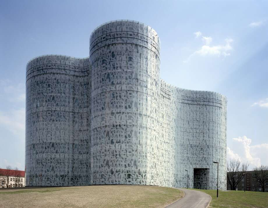 "Brandenburg Technical University's library, in Cottbus, Germany, sets ""new benchmarks for access to multimedia worlds of knowledge,"" said the jury that selected it as the nation's library of the year in 2006. The library's architects, Switzerland's Herzog & de Meuron, also designed the new de Young Museum in San Francisco. Photo: UniversalImagesGroup, UIG Via Getty Images"
