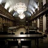 The Braidense Library (1786) in Milan, Italy, was once used by the Jesuits as a study room.