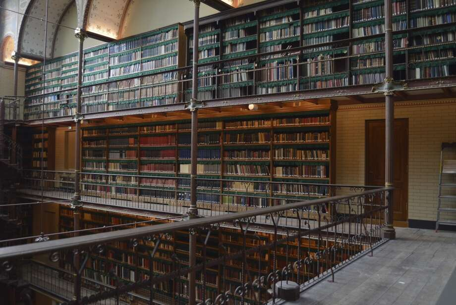 The Rijksmuseum Research Library, in Amsterdam, was established in 1885. Photo: JTB Photo, UIG Via Getty Images