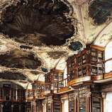 Switzerland's Rococo Abbey Library of St. Gall is one of the world's oldest libraries, with manuscripts that date as far back as the 8th century.